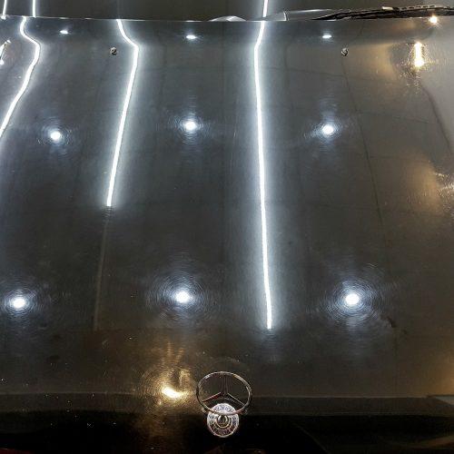 Mercedes Corrección Full de laca - Antes